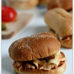cream cheese chicken sandwiches--crockpot recipe