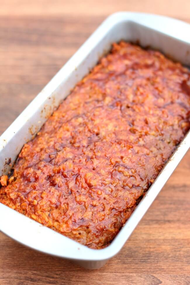 Slow Cooker Homestyle Ground Turkey Or Beef Meatloaf 365 Days Of Slow Cooking And Pressure