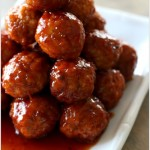 easy recipe for meatballs with grape jelly and chili sauce