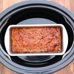 slow cooker homestyle meatloaf (with ground turkey)