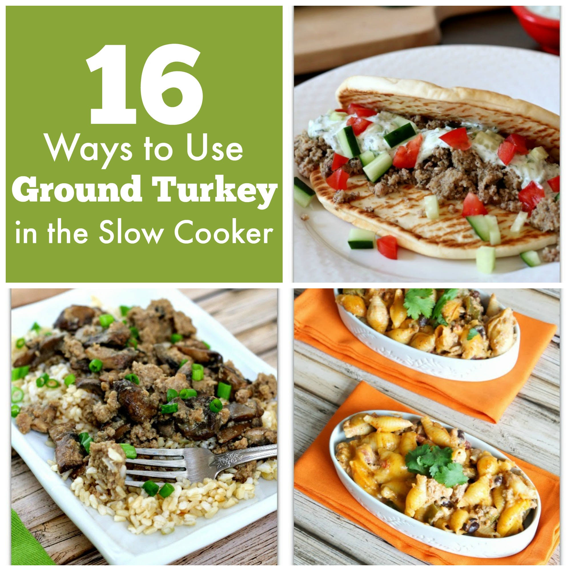16 Ways To Use Ground Turkey In The Slow Cooker Plus 5 Bonus