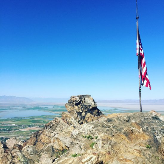 flag rock in farmington utah