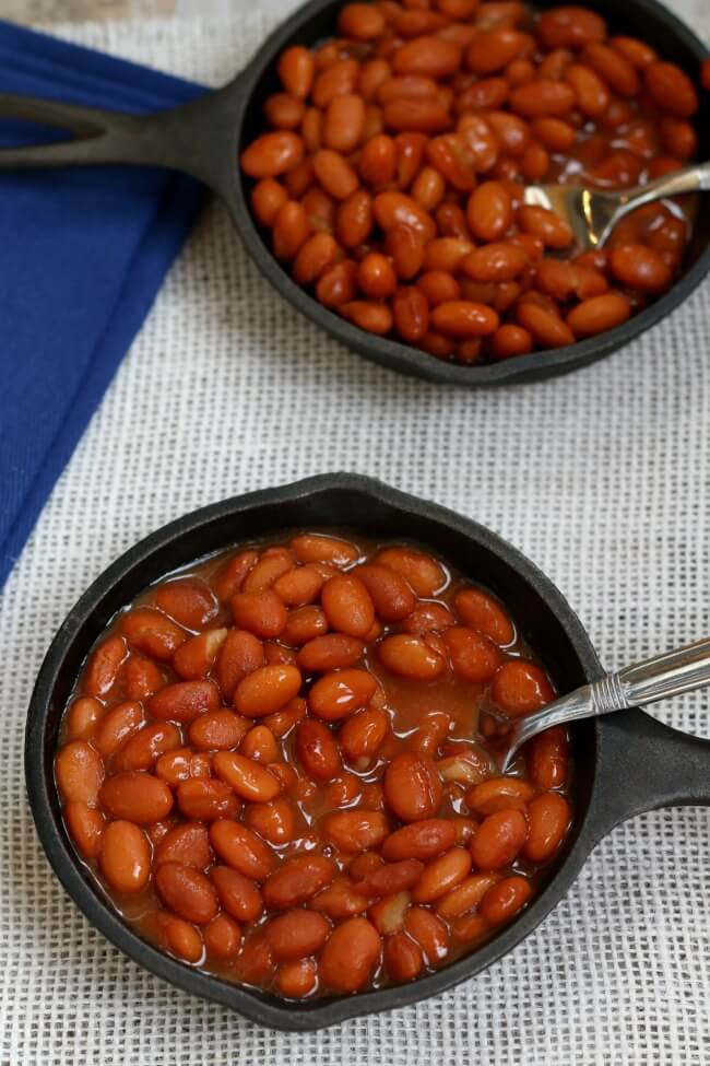 Slow Cooker Savory Baked Beans 365 Days Of Slow Cooking And Pressure Cooking
