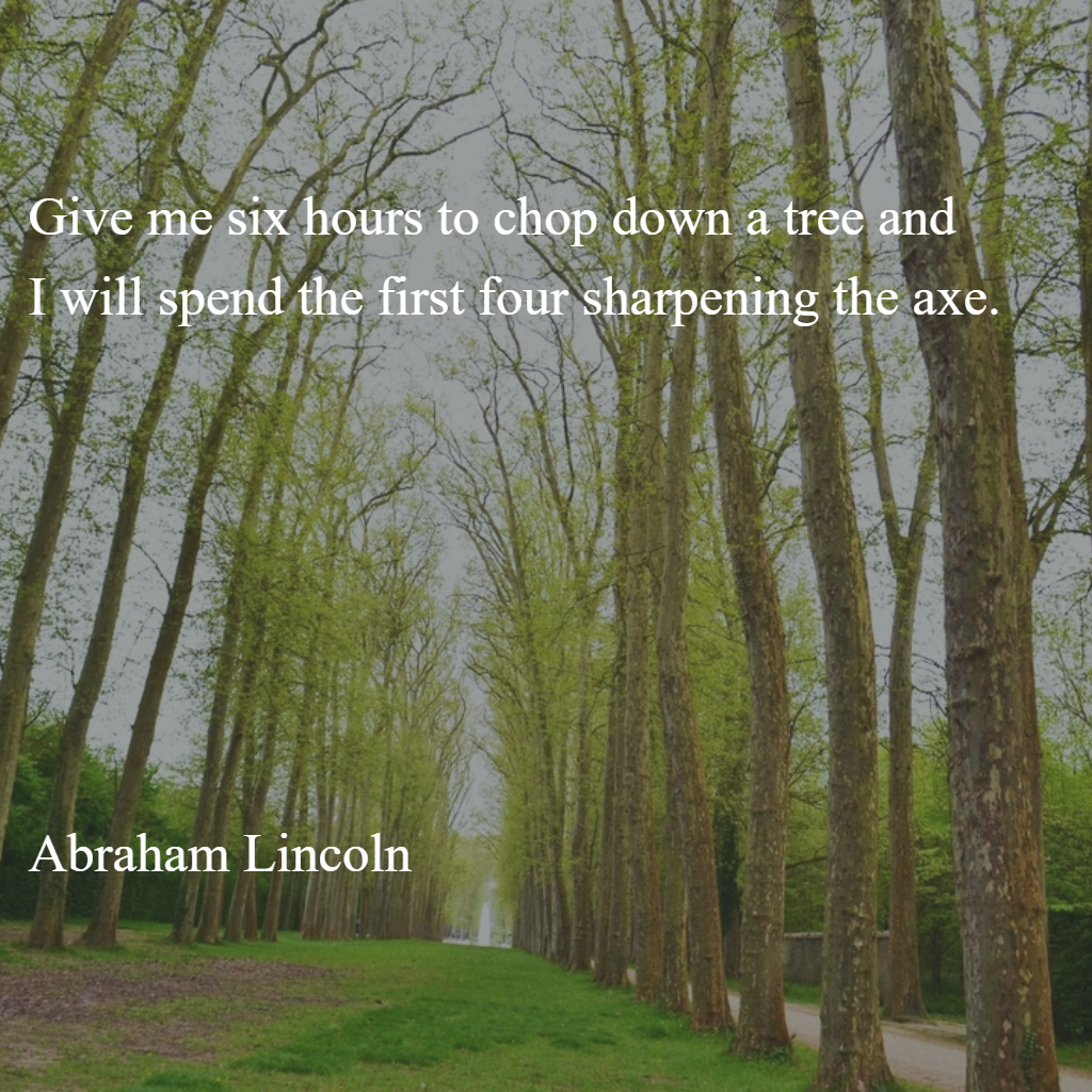 abraham lincoln quote 365 Days Podcast
