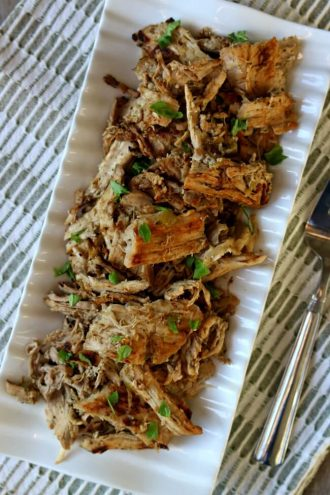 Skinny Slow Cooker Pork Carnitas