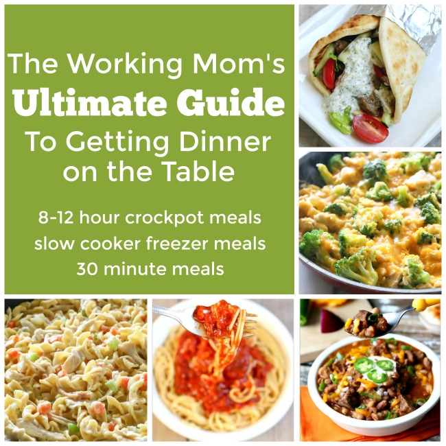 The Working Mom S Ultimate Dinner Guide 365 Days Of Slow Cooking