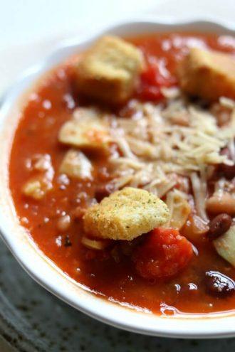 Tomato Artichoke 15-Bean Soup