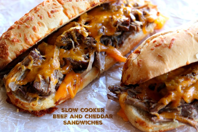 Instant Pot Beef and Cheddar Sandwiches–the easiest recipe to make ever. With only 5 ingredients total (beef, broth, onion soup mix, cheddar and sandwich buns) you may be thinking that this recipe is just too easy to taste good. Well, you're wrong 🙂 The flavor is amazing and your family will be asking for seconds.