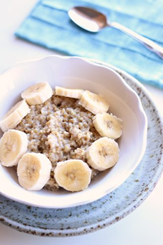 Single Serving Instant Pot Steel Cut Oatmeal Recipe