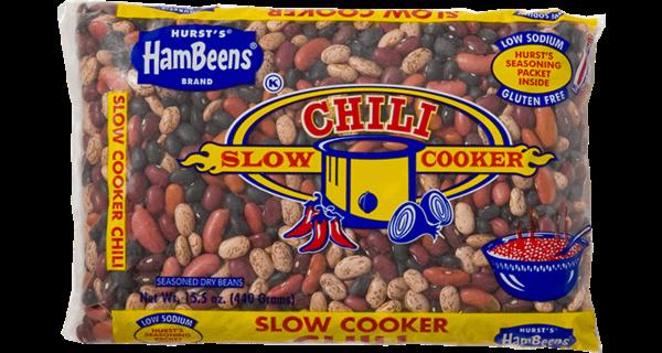 Hurst's Hambeens Slow cooker chili
