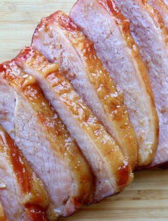 Instant Pot Brown Sugar Carving Ham