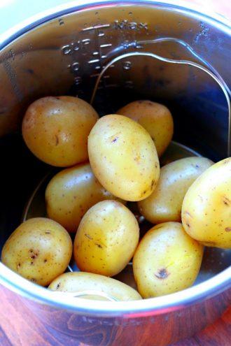Instant Pot Yellow Baked Potatoes
