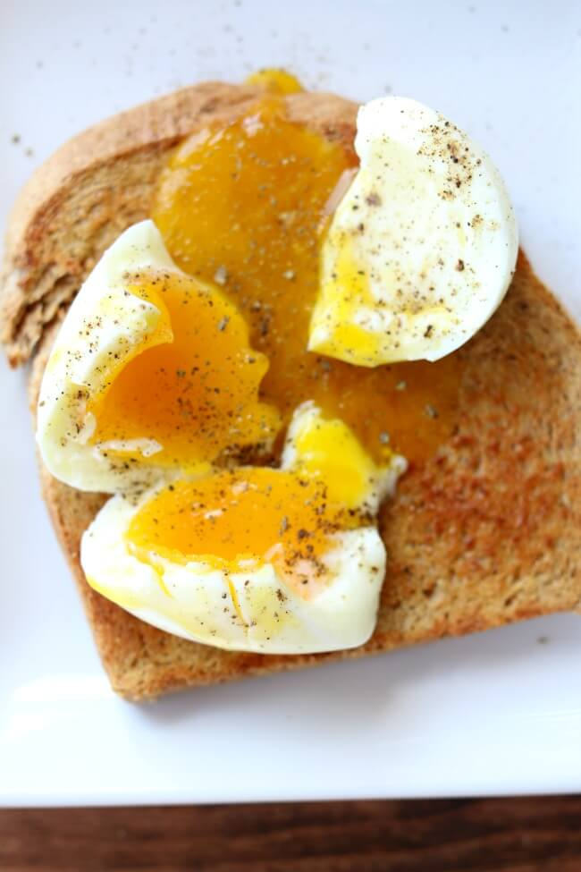 Instant Pot Soft Boiled Eggs--if you're a fan of a nice piece of whole wheat toast dipped into the warm runny yolk of an egg then you're going to love making soft boiled eggs in your pressure cooker. The process is simple and hands off and produces the perfect soft boiled egg.