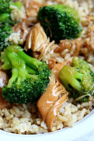 Instant Pot Chicken Broccoli Rice Bowl