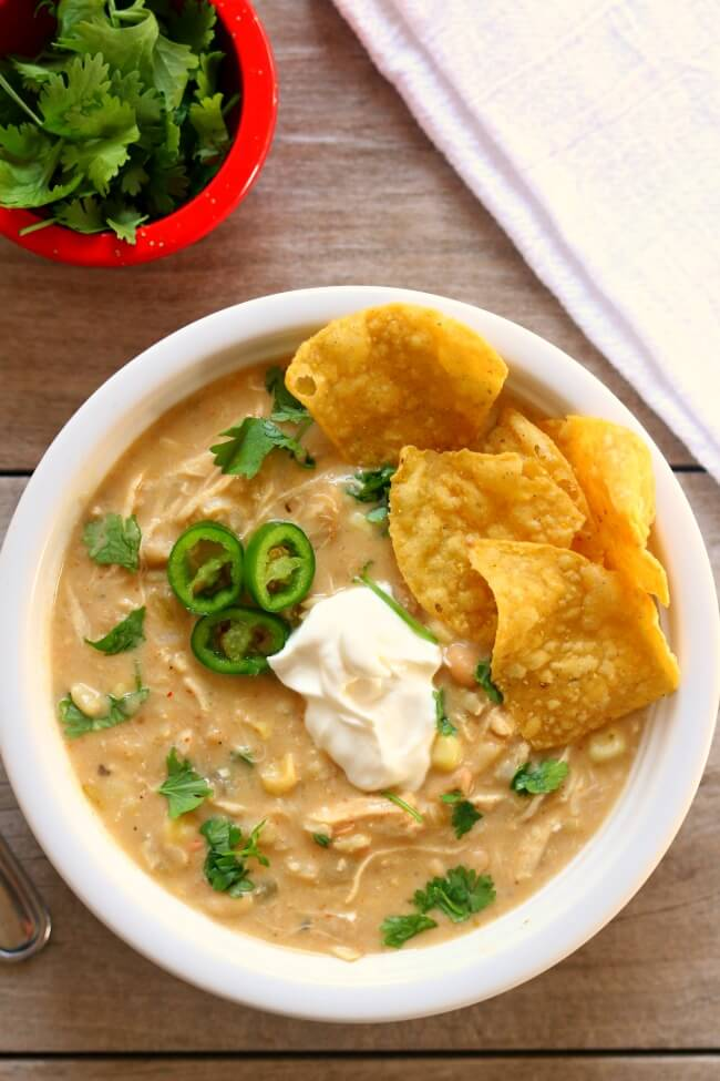 Instant Pot Green Chile Chicken Enchilada Soup 365 Days