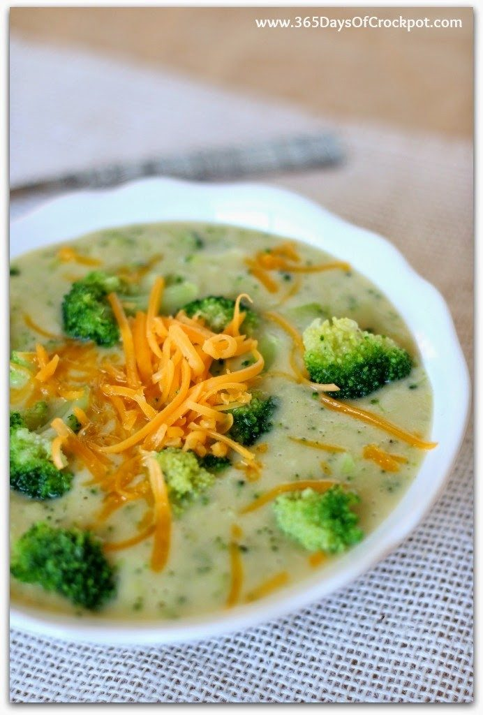 Instant Pot Skinny Broccoli Cheddar Soup--a healthier version of a very popular soup. Because the base of the soup is made of yellow potatoes instead of butter, flour and cream this soup is gluten free and lighter than it's original counterpart.