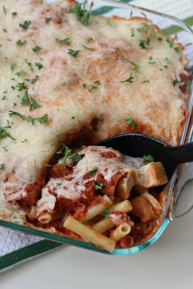 chicken parm casserole recipe