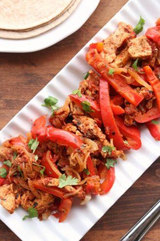 Instant Pot/Slow Cooker Pork Chop Fajitas