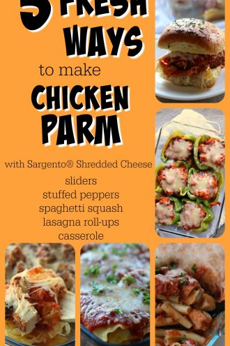 Chicken Parm (5 Ways)