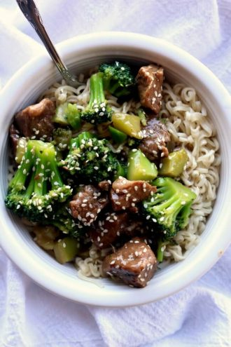 Asian archives 365 days of slow cooking and pressure cooking slow cooker beef and broccoli forumfinder Gallery