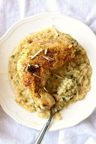 Slow Cooker Chicken and Brown Rice
