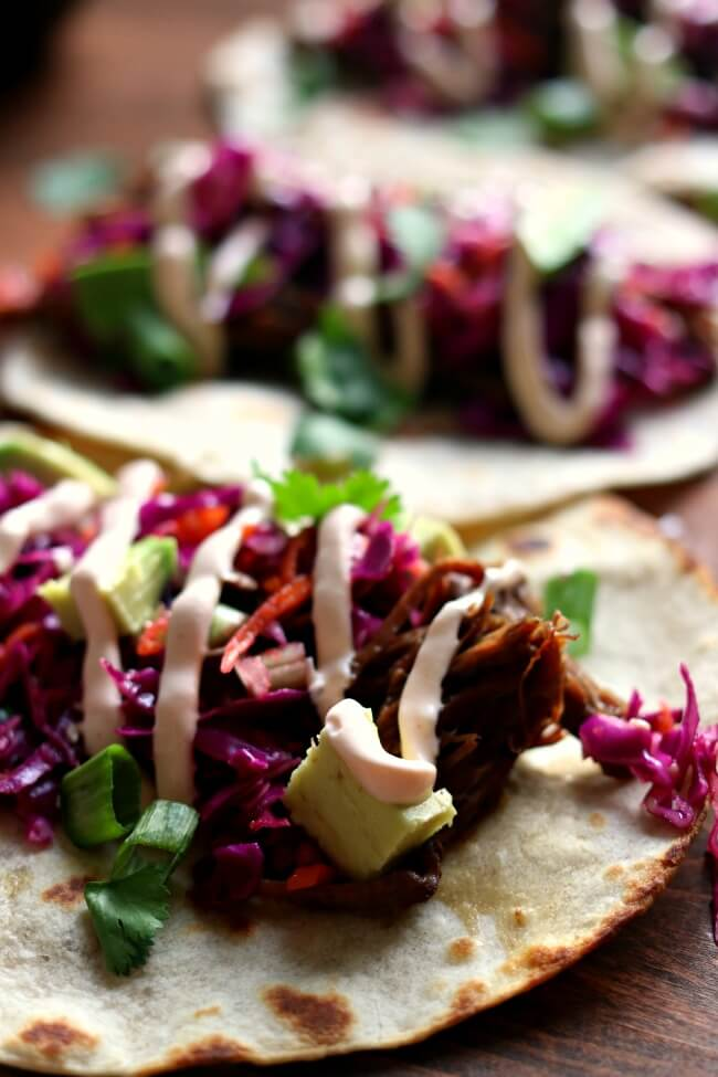 Instant Pot Or Slow Cooker Korean Beef Tacos 365 Days Of