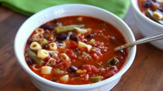 Instant Pot (Ground Turkey) Minestrone Soup