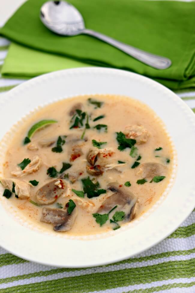 Instant Pot Thai Coconut Soup