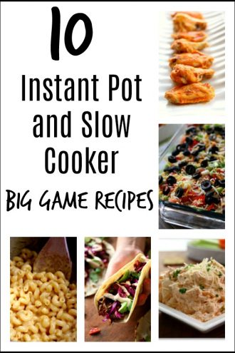 10 Instant Pot and Slow Cooker Football Party Recipes
