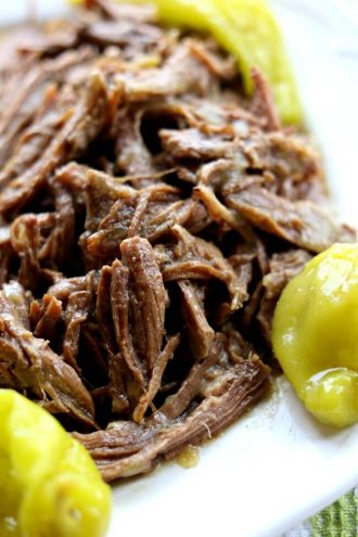 Instant Pot Mississippi Roast (no packets)