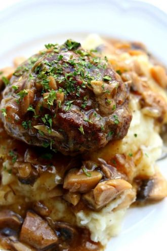 Instant Pot Salisbury Steak, Gravy and Mashed Potatoes