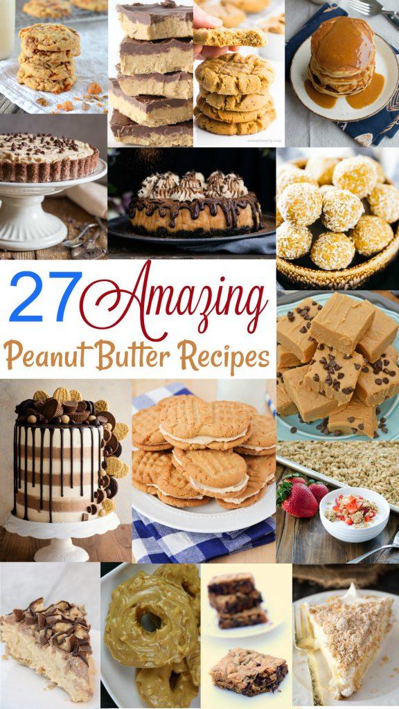 27 amazing peanut butter recipes
