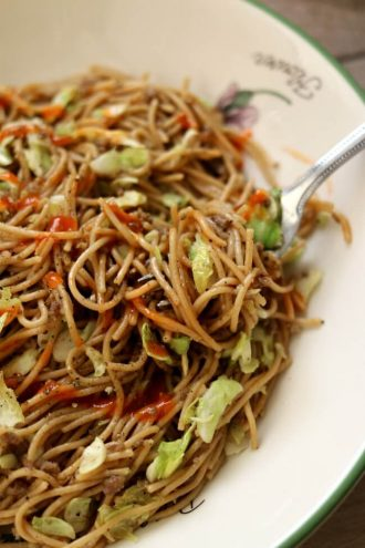 Instant Pot Pepper Noodles