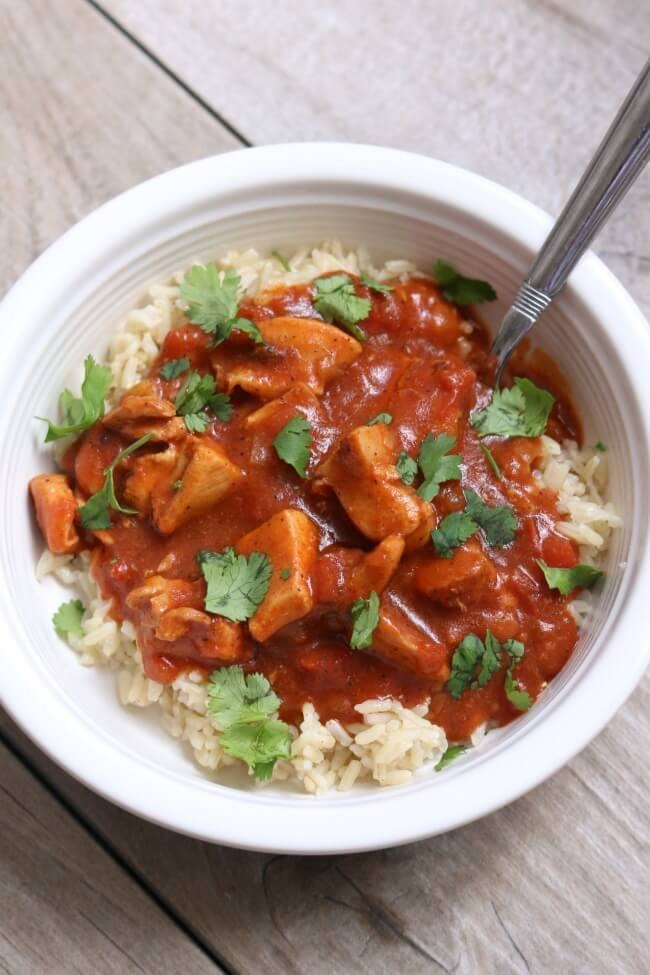 Slow Cooker Chicken Tikka Masala Recipe 365 Days Of Slow Cooking And Pressure Cooking