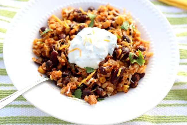 Slow Cooker Santa Fe Beans And Rice 365 Days Of Slow Cooking And Pressure Cooking