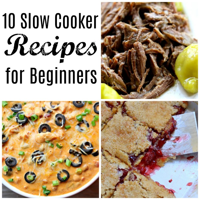 New to the slow cooker (or cooking in general)? Don't be scared! I'm going to share with you 10 easy slow cooker recipes that will make you feel confident in the kitchen.