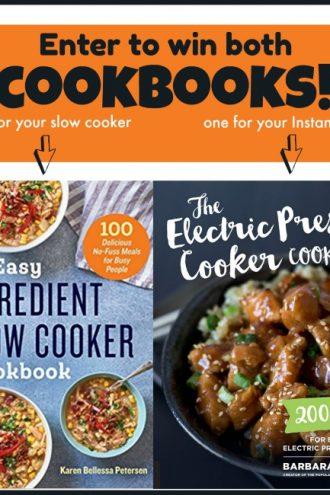 Cookbooks Giveaway