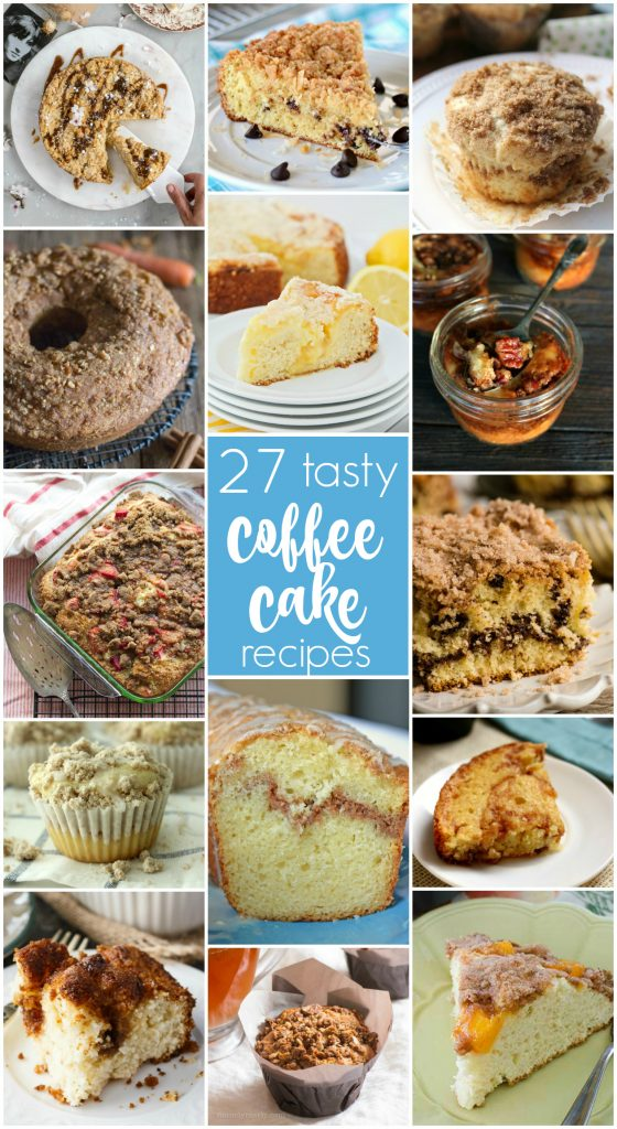 Coffee Cake recipes for brunch!