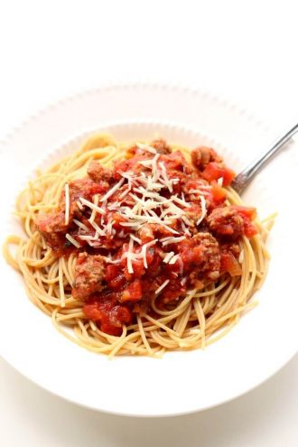 Slow Cooker Homemade Spaghetti Sauce