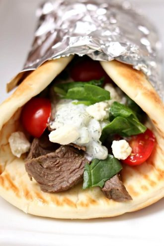 Instant Pot Steak Gyros