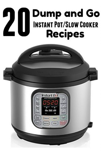 65 Dump and Go Instant Pot and Slow Cooker Recipes
