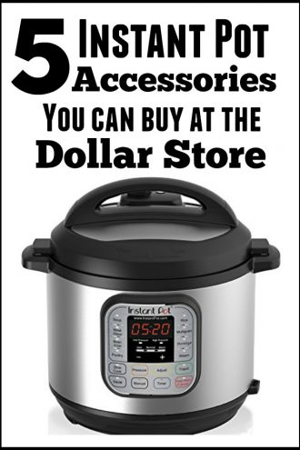 5 (Dollar Store) Instant Pot Accessories