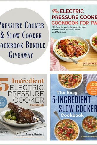 Cookbook Bundle Giveaway