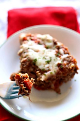 Instant Pot Pepperoni Pizza Meatloaf