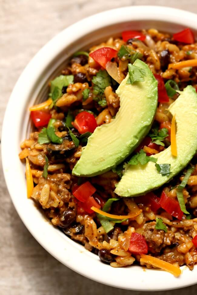 Instant Pot Cheesy Taco Orzo 365 Days Of Slow Cooking And