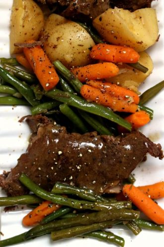 Slow Cooker Grandma's Sunday Roast