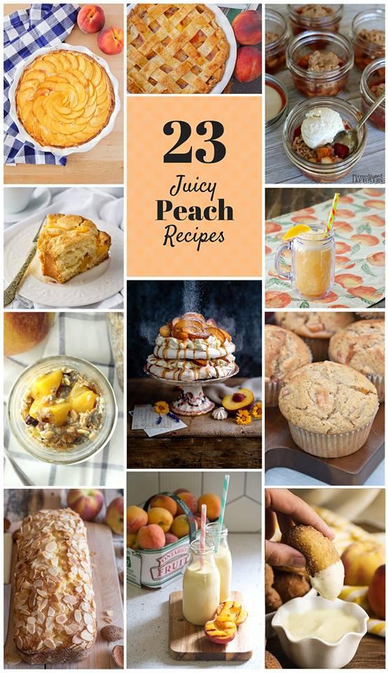 23 juicy peach recipes