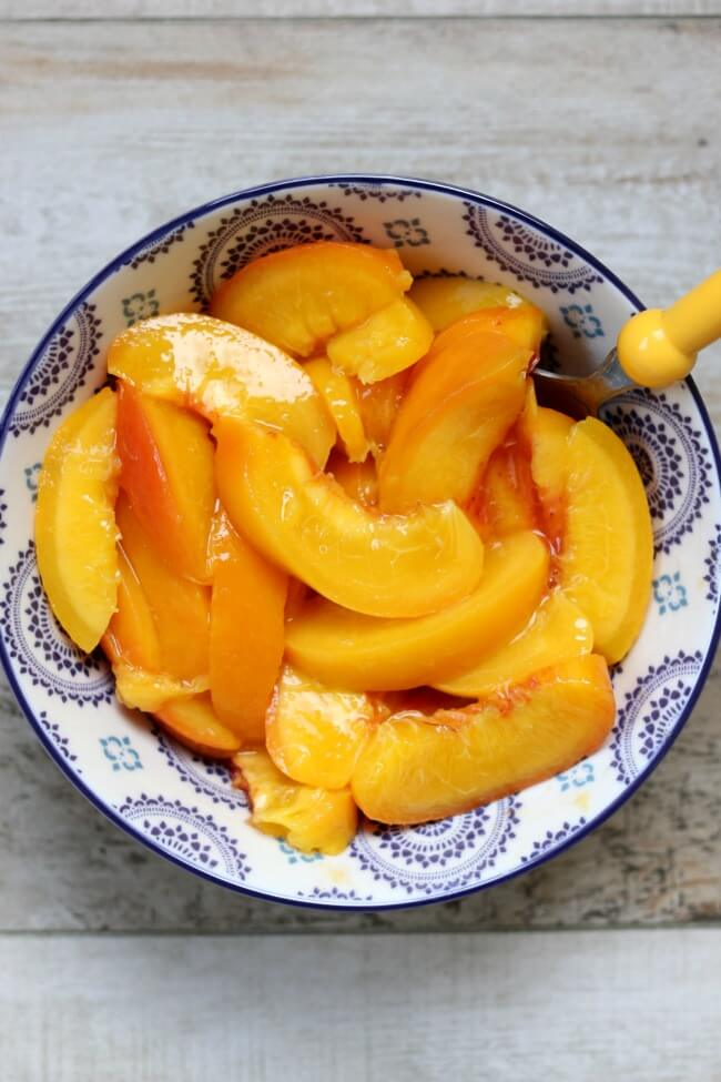 easiest way to peel peaches--using your Instant Pot!