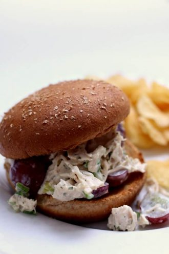 Instant Pot/Slow Cooker Chicken Salad