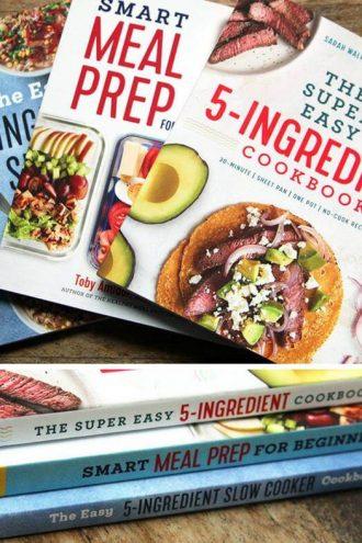 Back-to-School Cookbook Bundle Giveaway